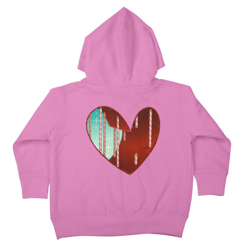 Jailbreak Kids Toddler Zip-Up Hoody by Tara McPherson