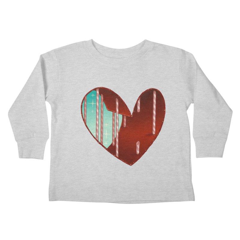 Jailbreak Kids Toddler Longsleeve T-Shirt by Tara McPherson