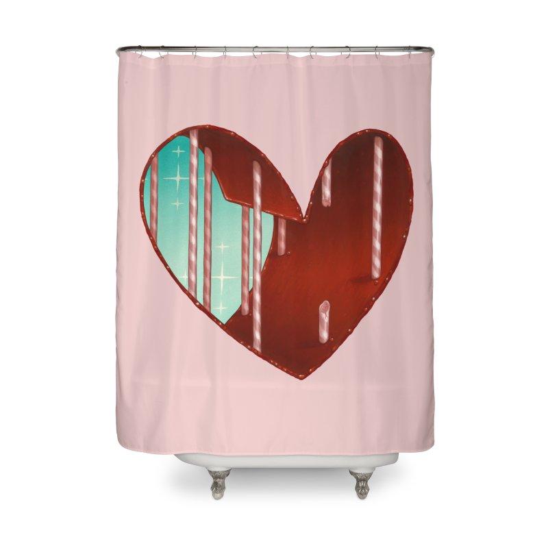 Jailbreak Home Shower Curtain by Tara McPherson
