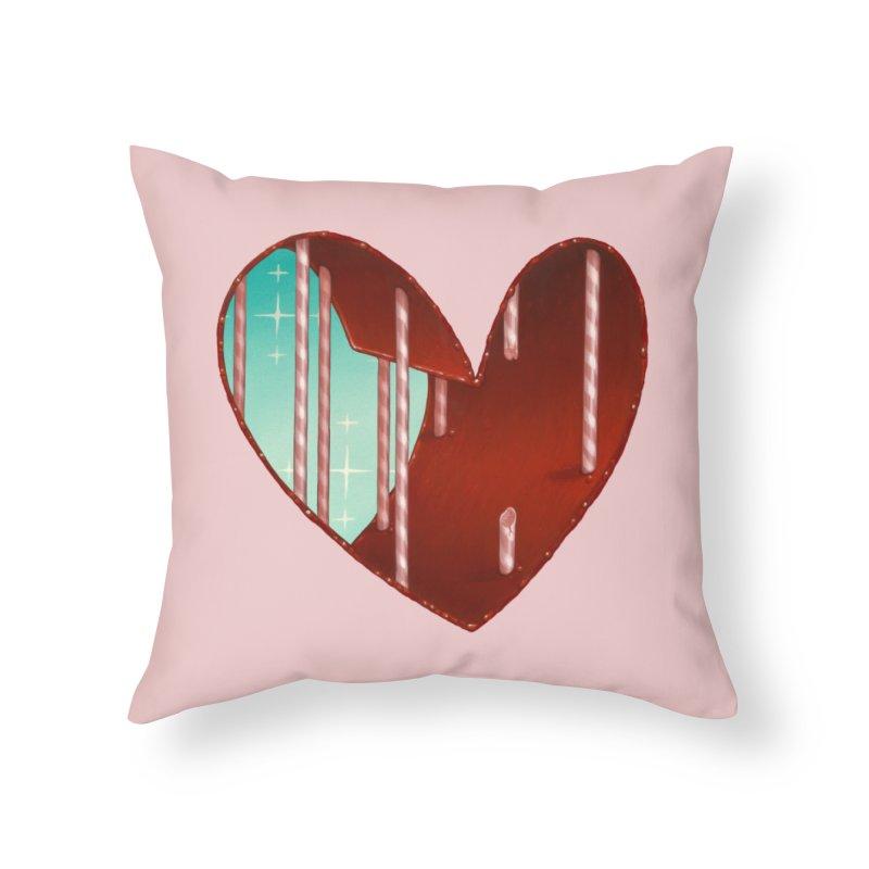 Jailbreak Home Throw Pillow by Tara McPherson
