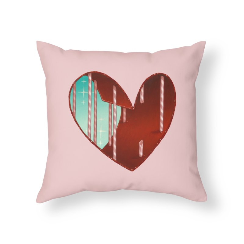 Jailbreak Home Throw Pillow by Tara McPherson