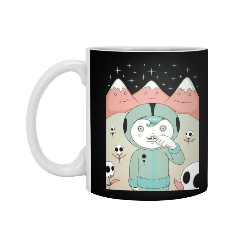 Lucius and His First Mustache Finger Accessories Mug by Tara McPherson