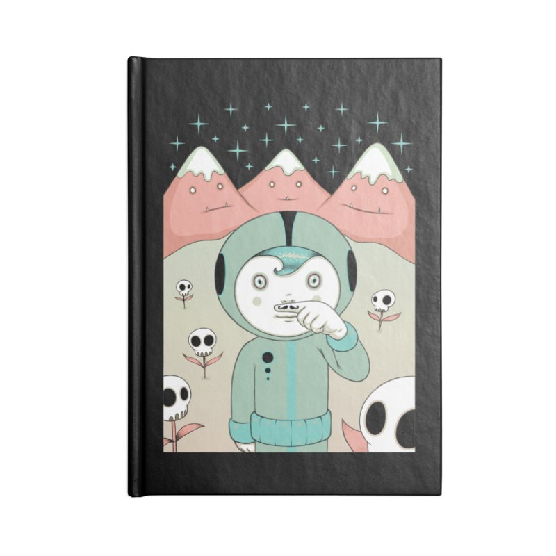 Lucius and His First Mustache Finger Accessories Notebook by Tara McPherson
