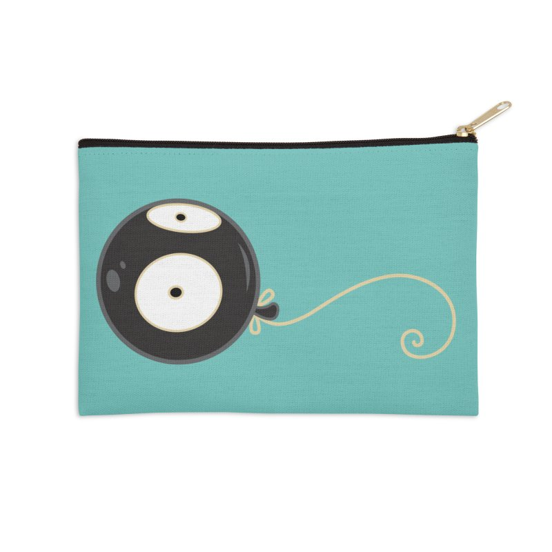 Mr. Wiggles Accessories Zip Pouch by Tara McPherson