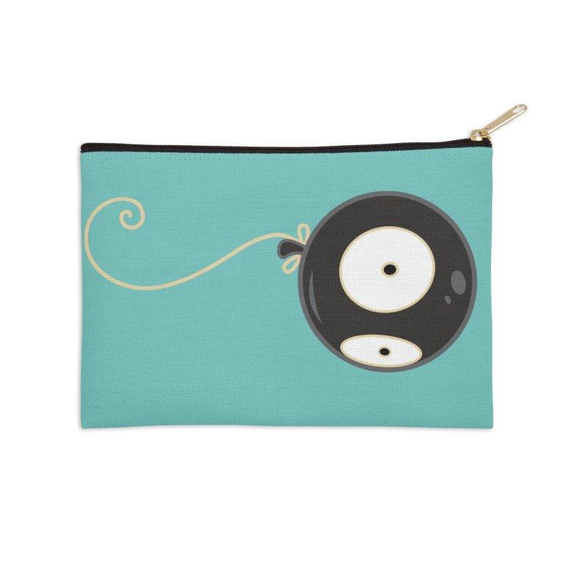 Mr. Wiggles Accessories Zip Pouch by Tara McPherson