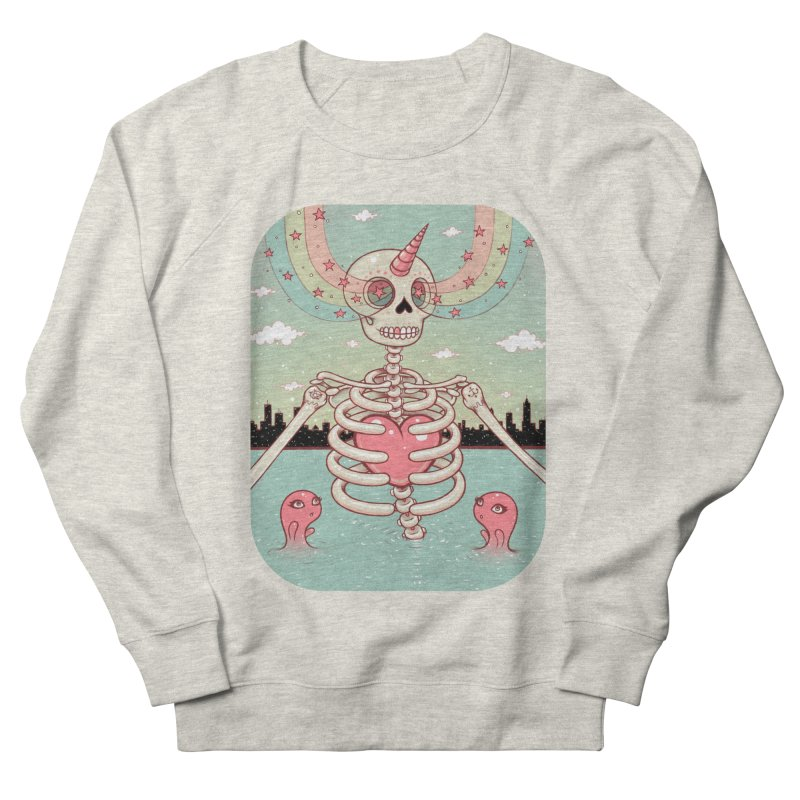 Skeleton Heart Women's Sweatshirt by Tara McPherson
