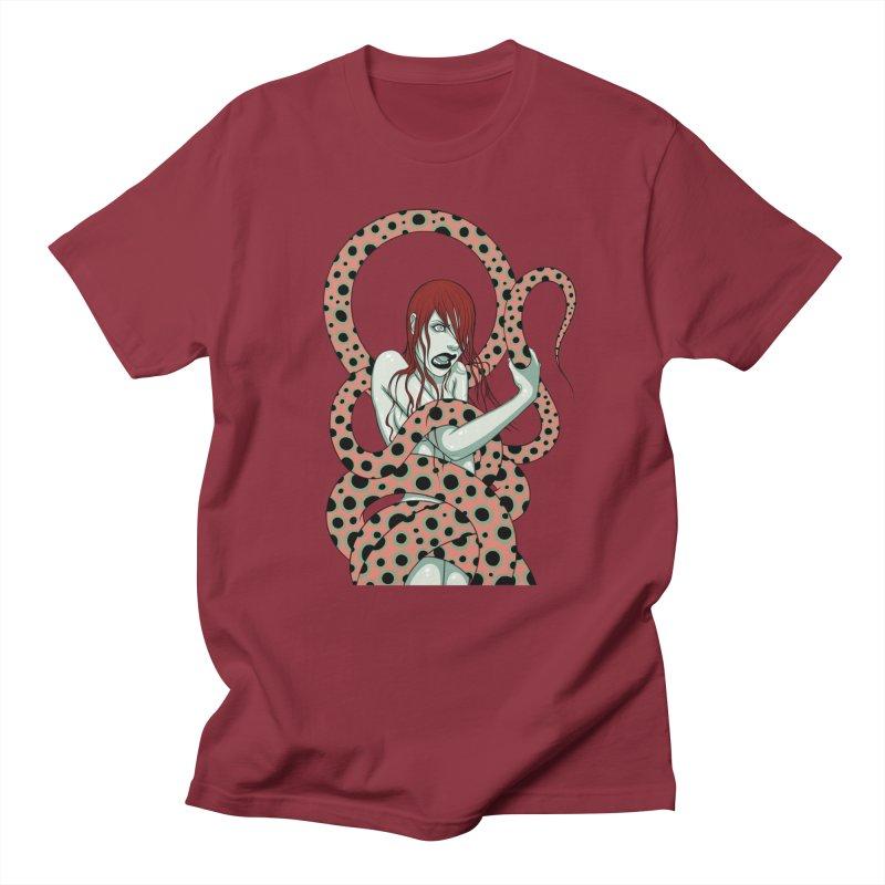 Snake Charmer Men's T-Shirt by Tara McPherson