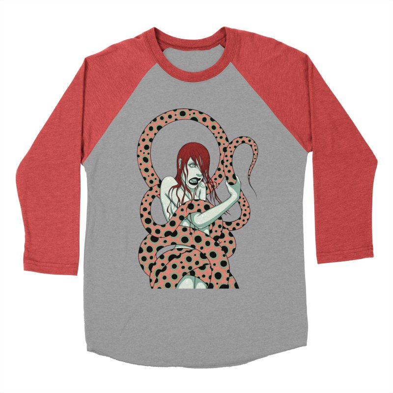 Snake Charmer Women's Baseball Triblend T-Shirt by Tara McPherson