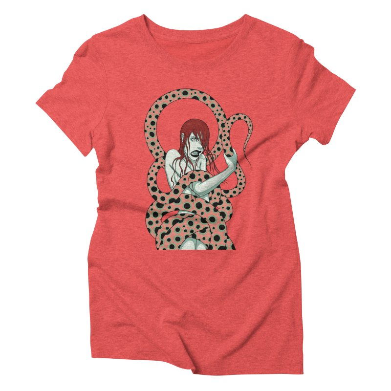 Snake Charmer Women's Triblend T-Shirt by Tara McPherson