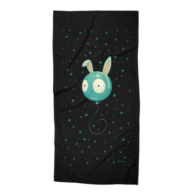 Bunny Wiggle Accessories Beach Towel by Tara McPherson