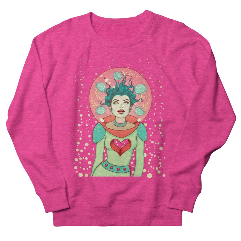 Interstellar Jelly Women's French Terry Sweatshirt by Tara McPherson