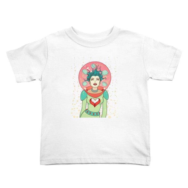 Interstellar Jelly Kids Toddler T-Shirt by Tara McPherson