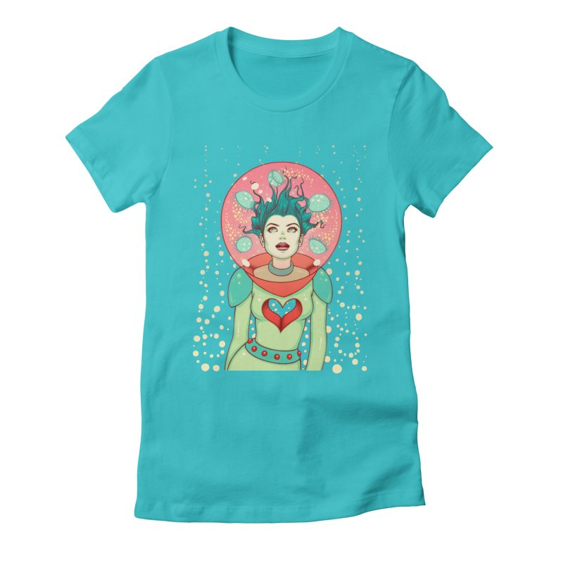 Interstellar Jelly Women's Fitted T-Shirt by Tara McPherson