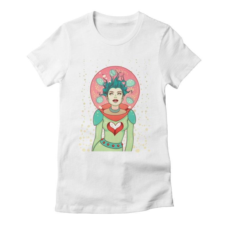 Interstellar Jelly Women's Fitted T-Shirt by Tara McPherson