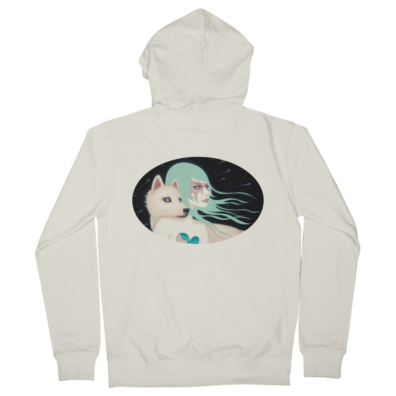 The Wanderers Men's Zip-Up Hoody by Tara McPherson