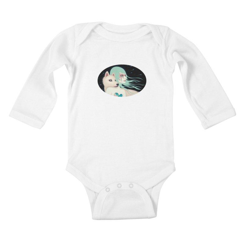 The Wanderers Kids Baby Longsleeve Bodysuit by Tara McPherson