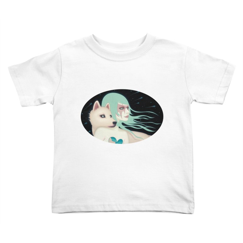 The Wanderers Kids Toddler T-Shirt by Tara McPherson
