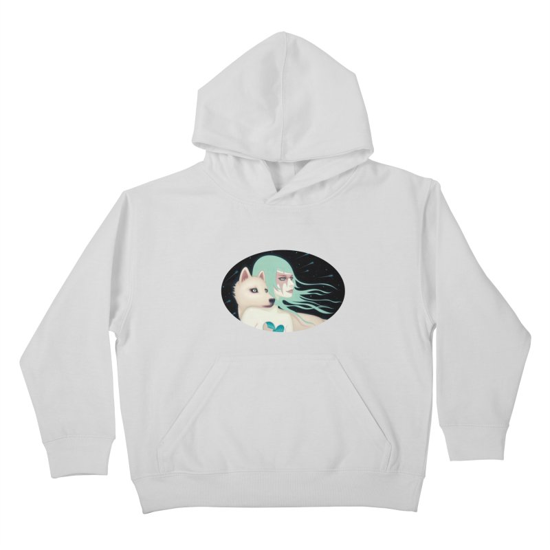 The Wanderers Kids Pullover Hoody by Tara McPherson