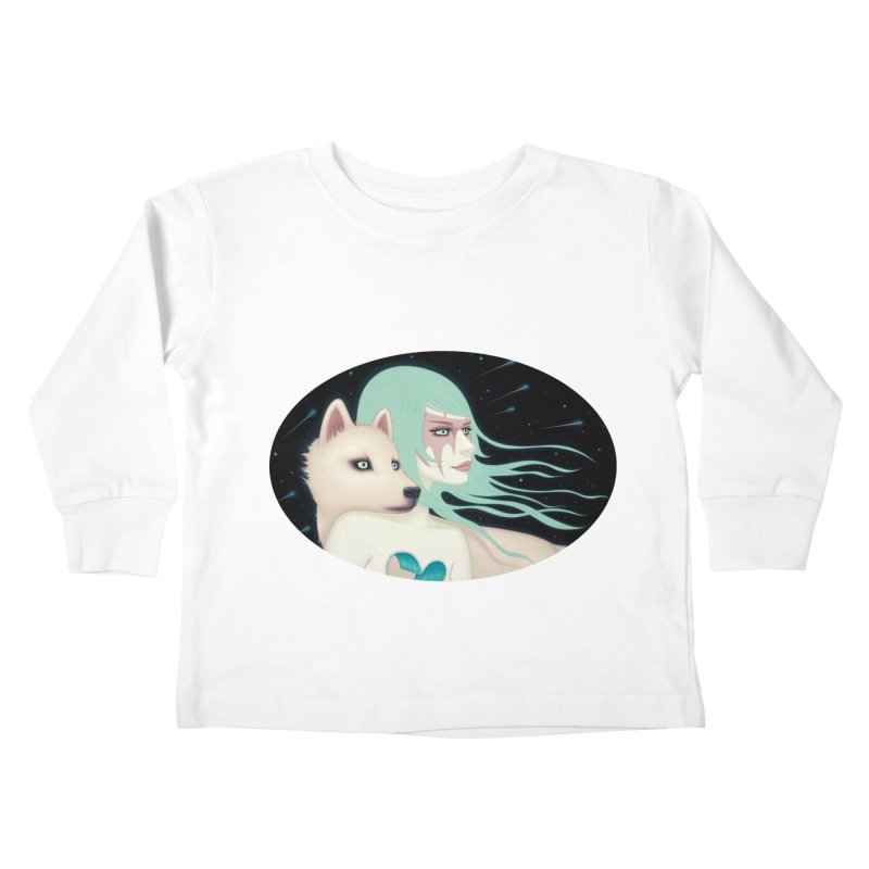 The Wanderers Kids Toddler Longsleeve T-Shirt by Tara McPherson