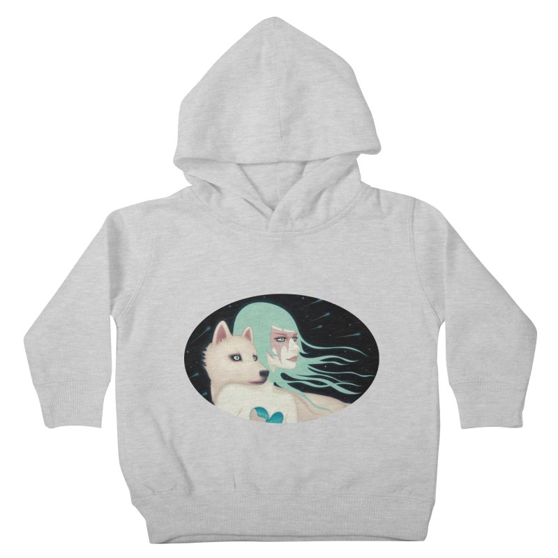The Wanderers Kids Toddler Pullover Hoody by Tara McPherson