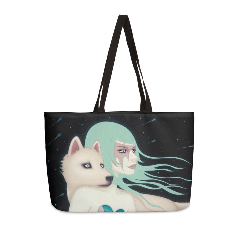 The Wanderers Accessories Weekender Bag Bag by Tara McPherson