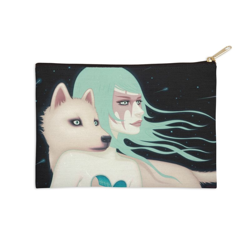 The Wanderers Accessories Zip Pouch by Tara McPherson