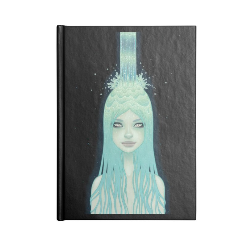 Crystal Waterfall Accessories Notebook by Tara McPherson