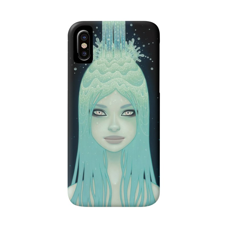 Crystal Waterfall Accessories Phone Case by Tara McPherson