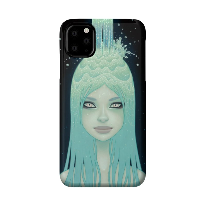 Crystal Waterfall Accessories Phone Case by Tara McPherson