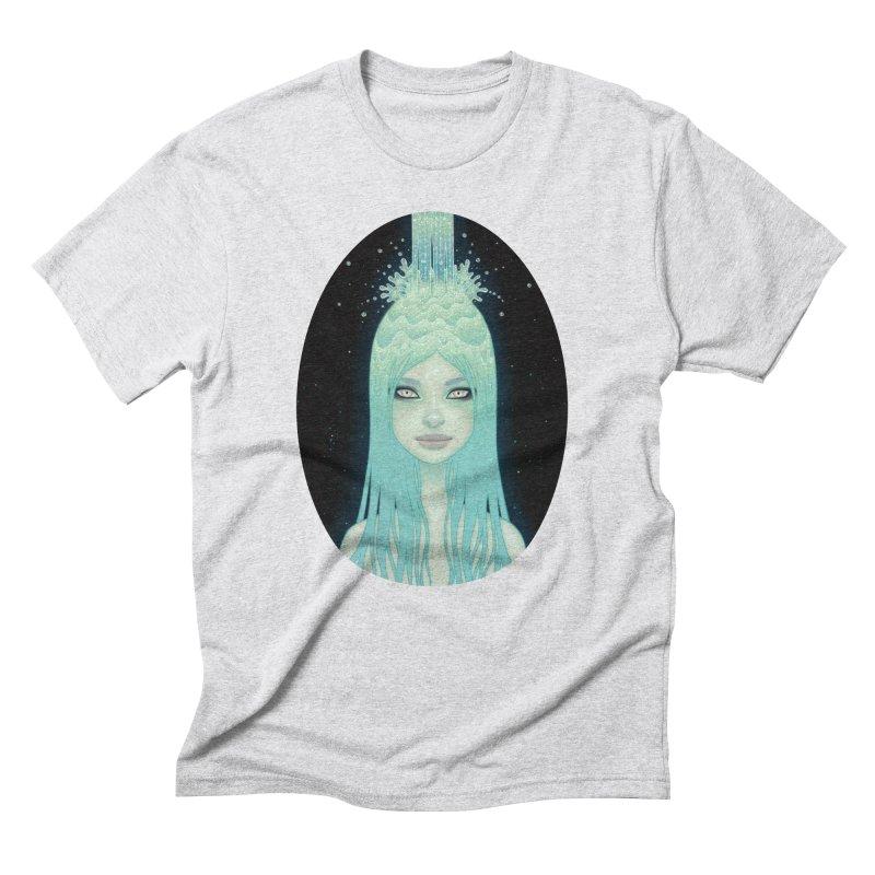 Crystal Waterfall Men's Triblend T-shirt by Tara McPherson