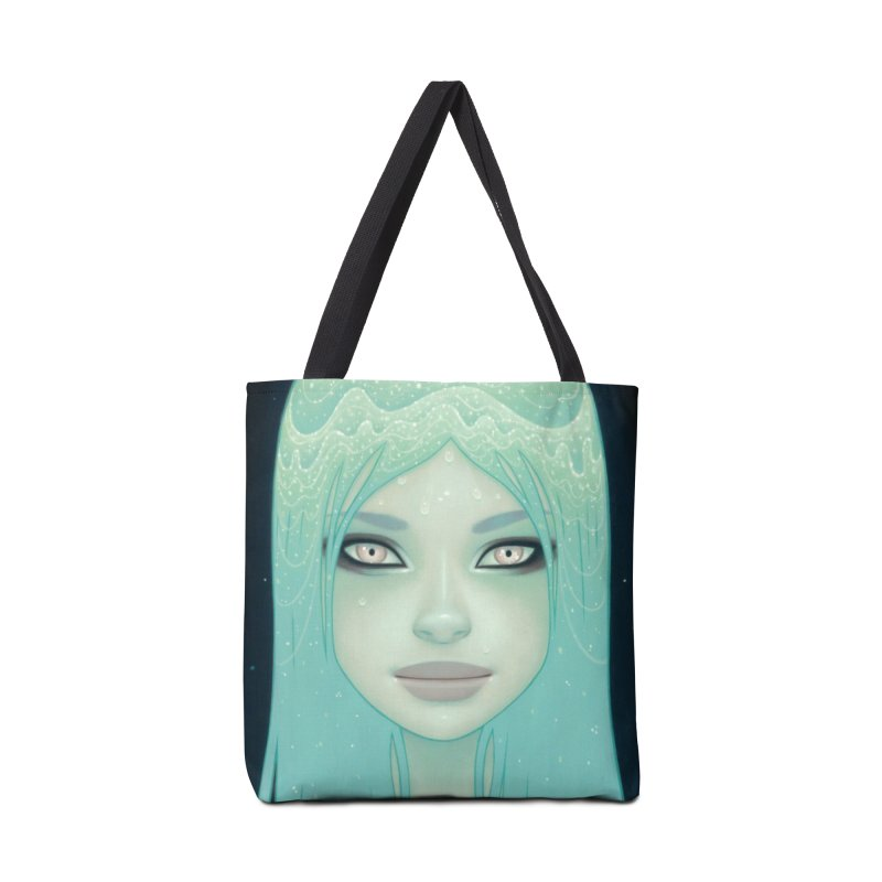 Crystal Waterfall Accessories Tote Bag Bag by Tara McPherson
