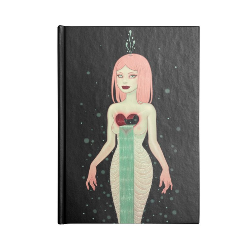 The Fountain Accessories Blank Journal Notebook by Tara McPherson