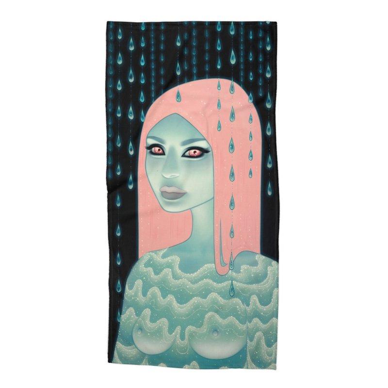 Wandering Luminations Accessories Beach Towel by Tara McPherson