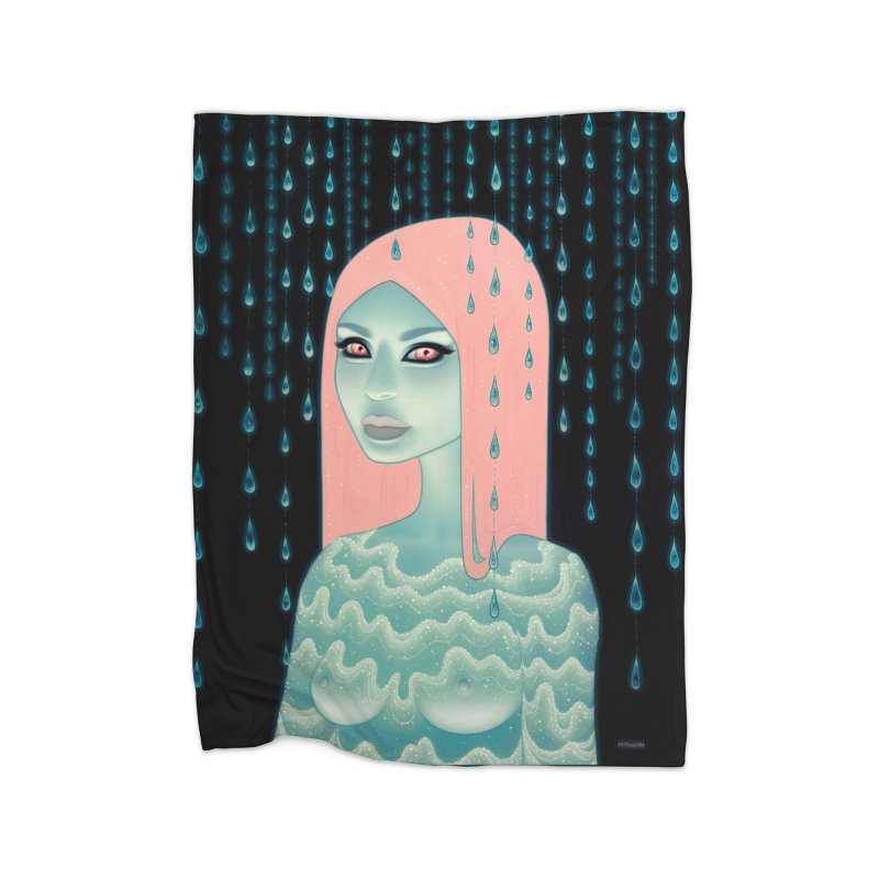 Wandering Luminations Home Blanket by Tara McPherson