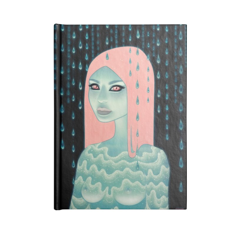 Wandering Luminations Accessories Lined Journal Notebook by Tara McPherson