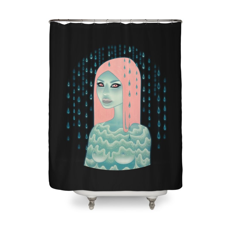 Wandering Luminations Home Shower Curtain by Tara McPherson
