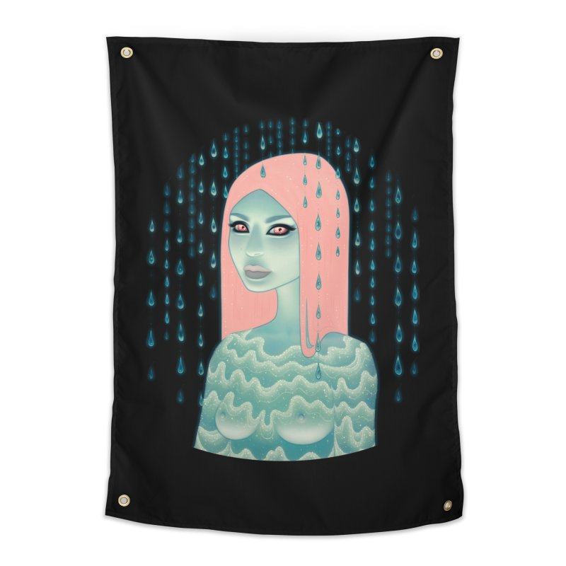 Wandering Luminations Home Tapestry by Tara McPherson