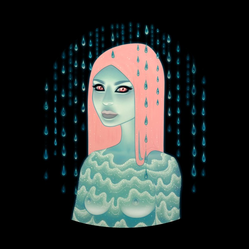 Wandering Luminations Men's T-Shirt by Tara McPherson