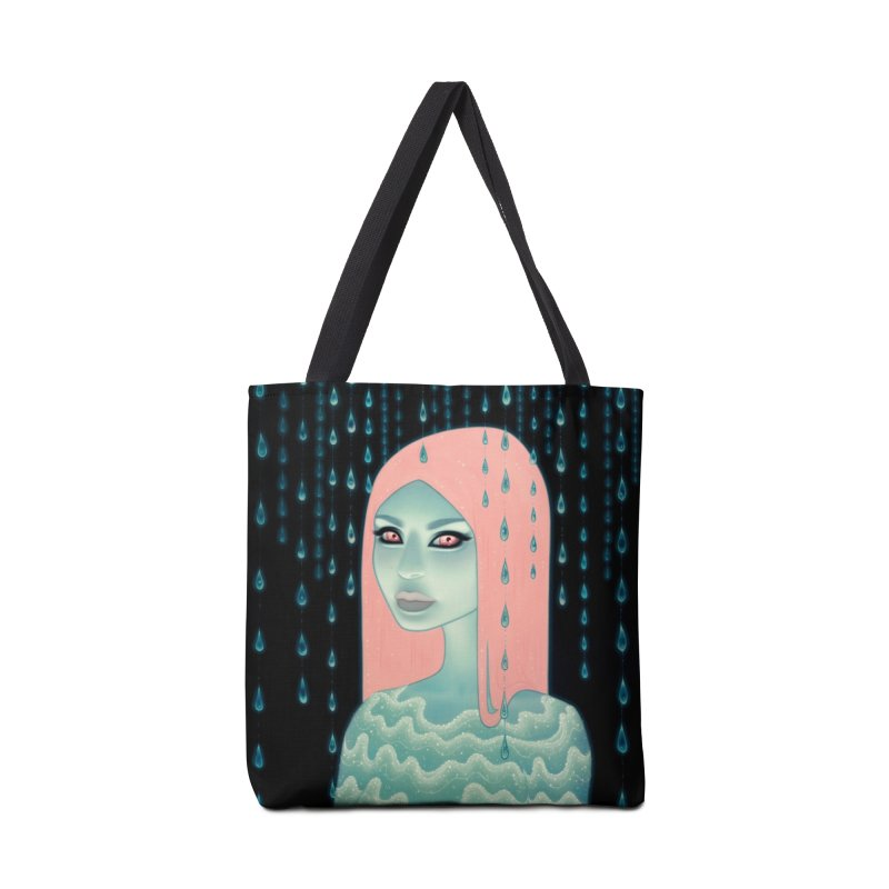Wandering Luminations Accessories Tote Bag Bag by Tara McPherson