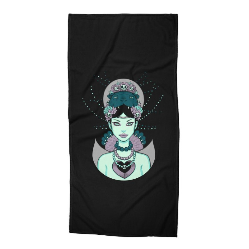 Wayob Accessories Beach Towel by Tara McPherson