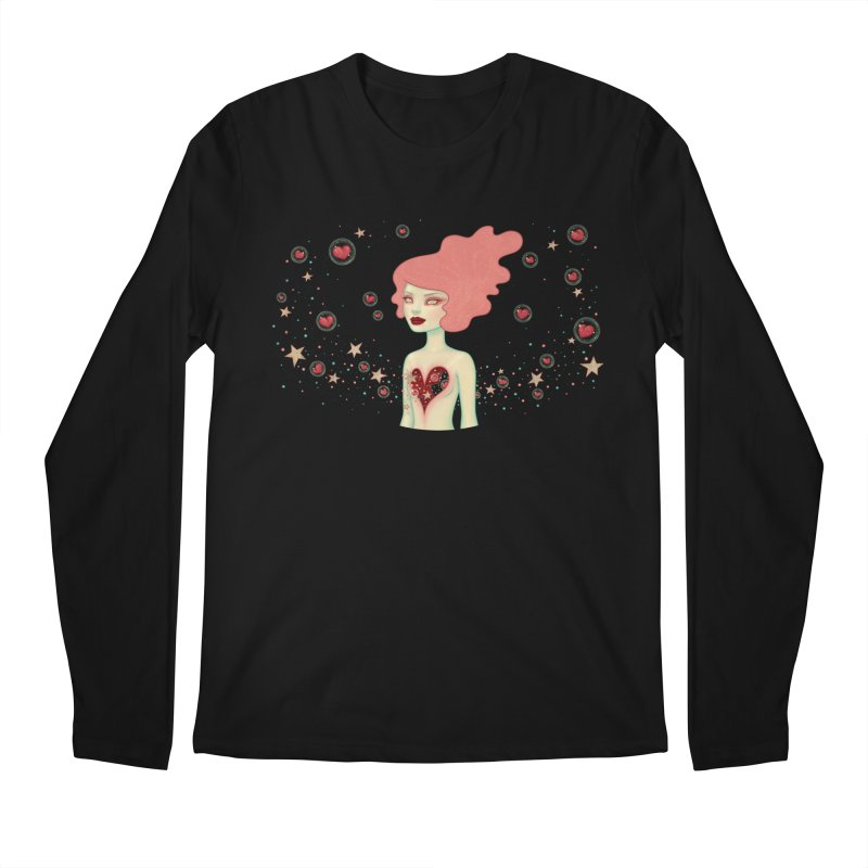 Supernova Men's Longsleeve T-Shirt by Tara McPherson