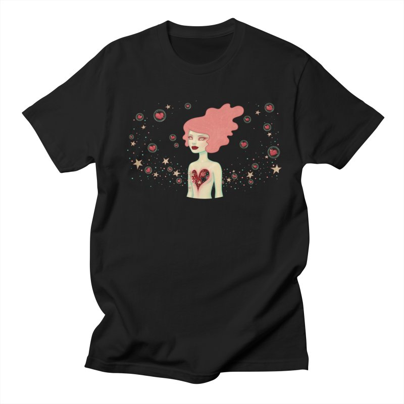 Supernova Men's T-shirt by Tara McPherson
