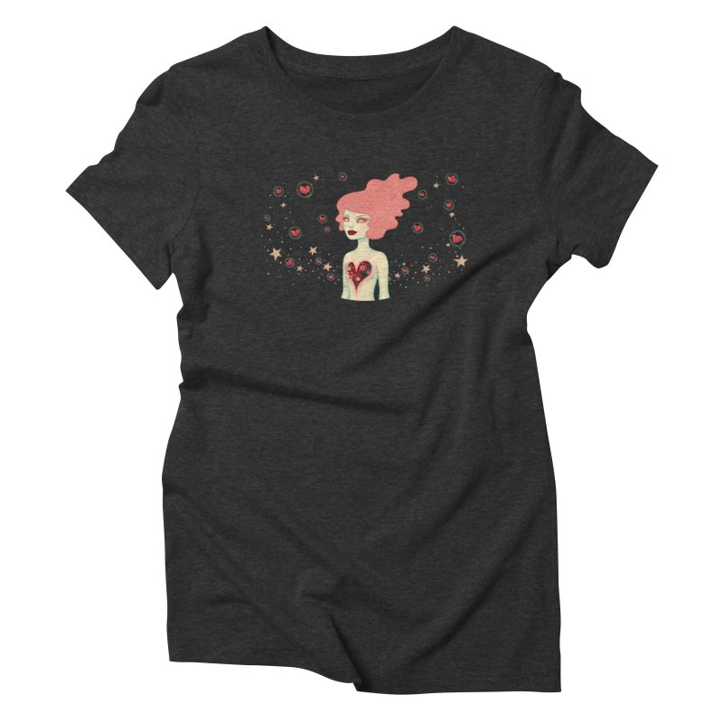 Supernova Women's Triblend T-Shirt by Tara McPherson