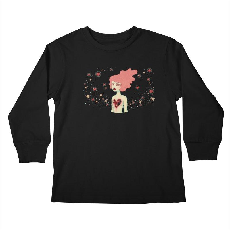 Supernova Kids Longsleeve T-Shirt by Tara McPherson