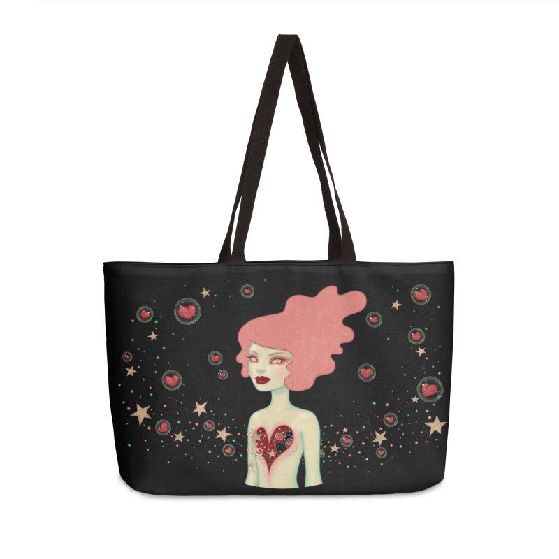 Supernova in Weekender Bag by Tara McPherson