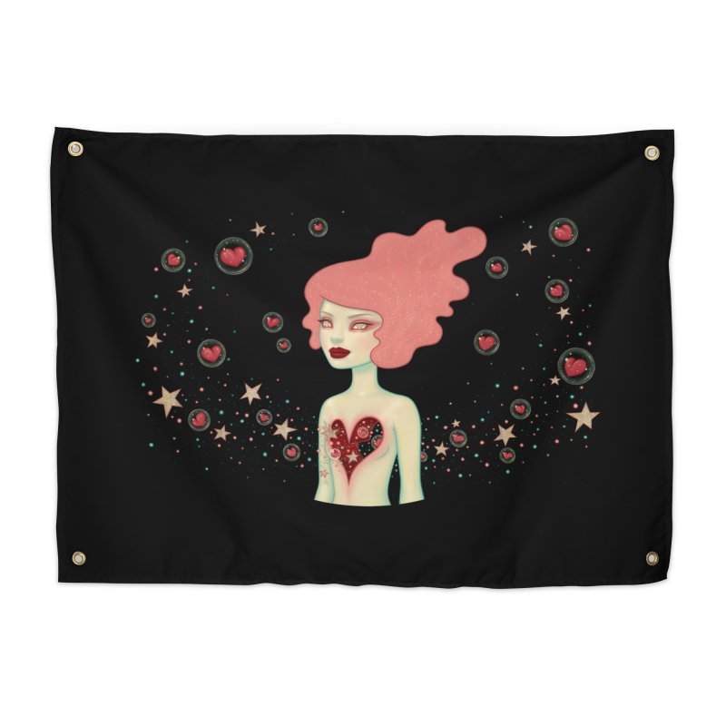 Supernova Home Tapestry by Tara McPherson