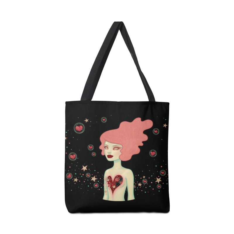 Supernova Accessories Tote Bag Bag by Tara McPherson