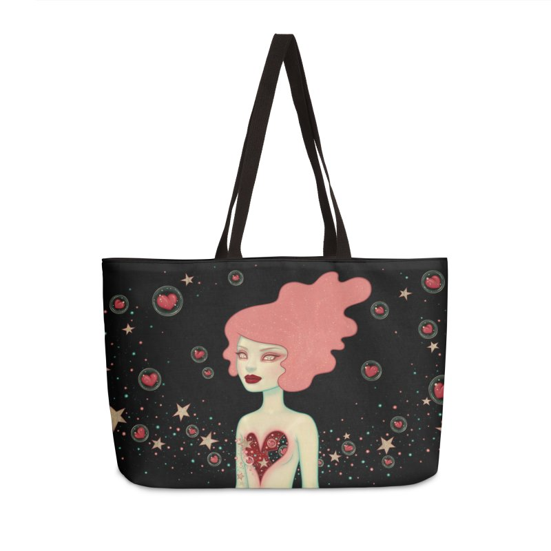 Supernova Accessories Weekender Bag Bag by Tara McPherson