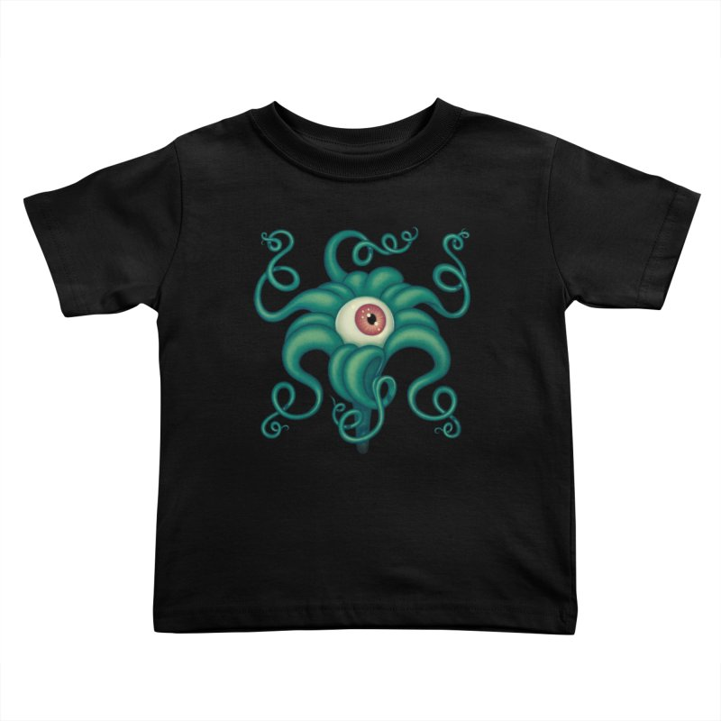 Lily Eye Kids Toddler T-Shirt by Tara McPherson