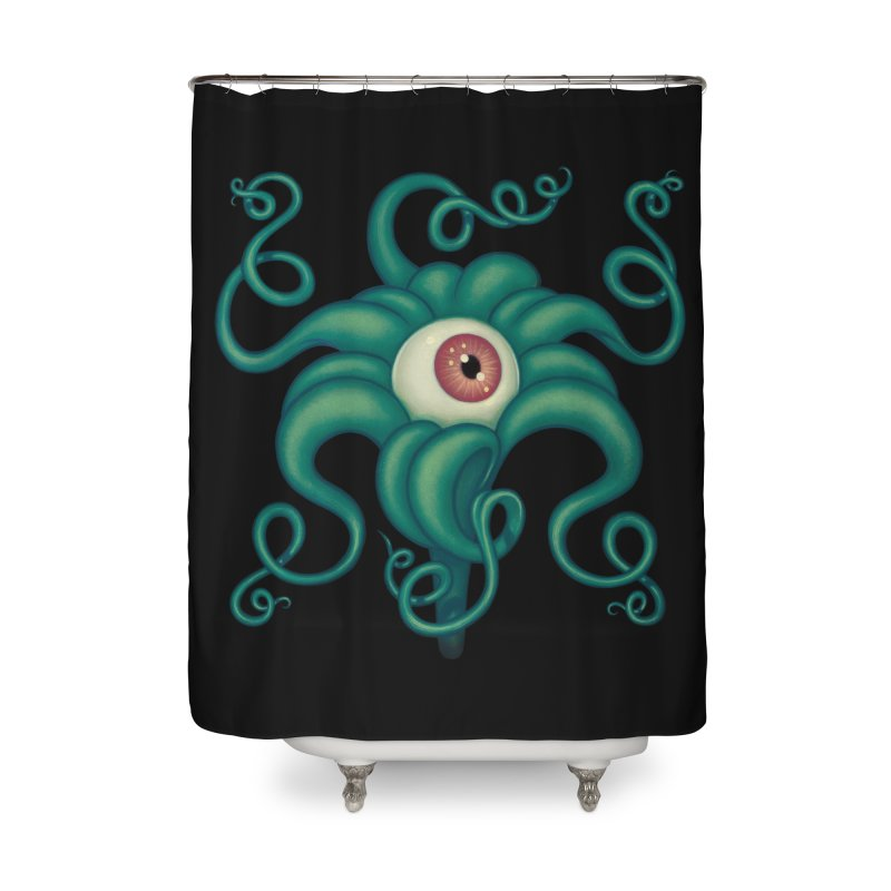 Lily Eye Home Shower Curtain by Tara McPherson